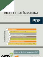 Biogeografía Marina