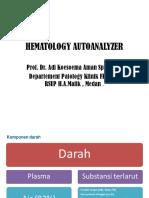 Presentation Hematology Analyzer SAM Medan