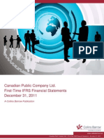 IFRS FirstTime Canadian