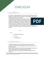 Torre Solar Informe