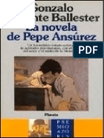 La Novela de Pepe Ansurez [5150 - Gonzalo Torrente Ballester