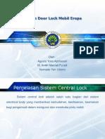 Sistem Door Lock Eropa