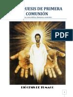 Catequesis de Primera Comunión Diocesis de Tumaco 2013