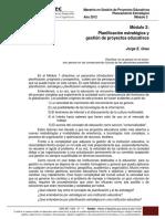 MOD PROSPE 2 - Planificación estratégica