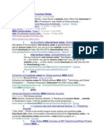 MBA Lecture Notes_websites