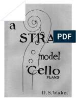 A Strad Model Cello Plans (Luthier-[1-15]