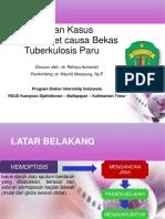PPT Kasus Hemoptisis Rahayu