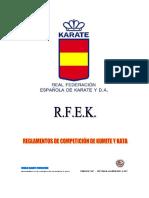 Tmp 28976-Rfek-reglamento Competicion Kata y Kumite v2017-1692348732