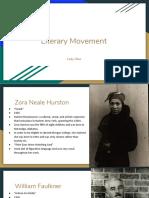 literary movement