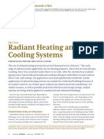 Radiant Heating and Cooling System