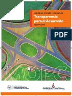 Revista Mopc- Conainco- 2017