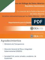 Iniciativa Latinoamericana por los Datos Abiertos - Mesa de Diálogo RD