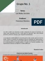 Diapositiva Redes Sociales