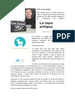2014 La Tapa Antigua
