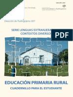 Cuadernillo de Educación Primaria Rural para el estudiante
