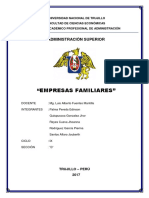 Empresas Familiares Monografia.