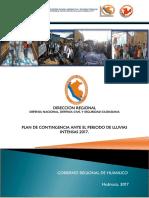 Plan Contingencia Lluvias Intensas 2017 1
