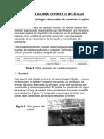 Ejemplo de Patología en Puentes Metálicos
