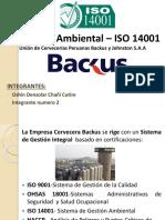 ISO 14001 Backus