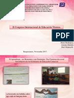 II Congreso Internacional de Educación Técnica