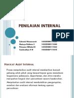 Penilaian Internal Ppt