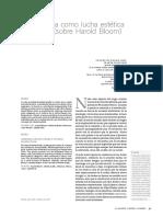 Gabriel Rudas La literatura como luhca estética Harold Bloom.pdf