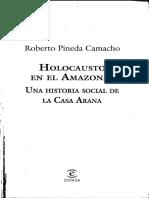 Pineda Camacho, Roberto - 2000 - Holocausto en El Amazonas