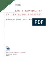 [Eugenio Coseriu] Tradición y Novedad en La Cienc(BookZZ.org)