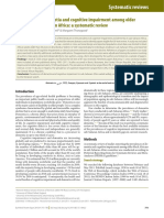 28. Prevalences of Dementia and Cognitive Impairment Among Older People in Sub-Saharan Africa