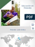 Exposición Educación en Finlandia- Seminario Taller Futuro Educación