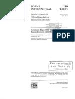 Norma ISO 14001 Versión 2015
