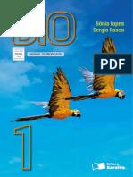 Biologia Volume 1, Sônia Lopes e Sergio Rosso, livro do professor.