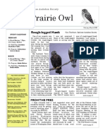 February-March 2008 Prairie Owl Newsletter Palouse Audubon Society