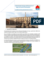 Gestión de agua de lluvia para el riego de huertos municipales del Ayuntamiento de Soria
