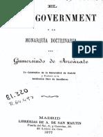 El Self-government y la monarquía doctrinaria(1877)Gumersindo de Azcárate.pdf