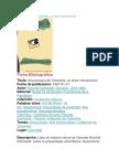 Arqueología de Colombia-un Texto Introductorio