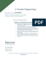 Monsanto Genetic Engineering