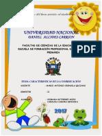 Informe de Comunicación