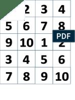 1 - 2 - 3 - 4