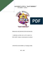 Proyecto Educación Ambiental 2017-2018