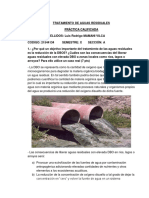 Examen Practica Tratamiento de Aguas Residuales X