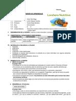 Texto Informativo Loncheras Nutri..
