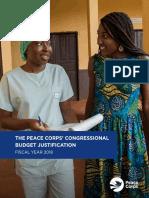 Peace Corps CBJ 2018