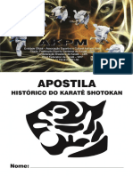 Apostila de Karatê Da AKPM