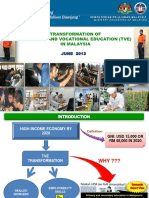 Tve Transformation in Malaysia Present