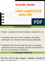 Strategic Competitice Analysis