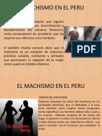 El Machismo en El Peru