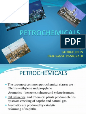 Petrochemicals | Petrochemical | Cracking (Chemistry)