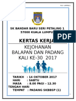 Kertas Kerja Sukan 2017