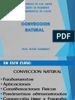 Convección Natural o Libre